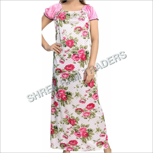 Ladies Floral Print Nighty