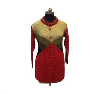 Ladies Party Wear Long Sweater