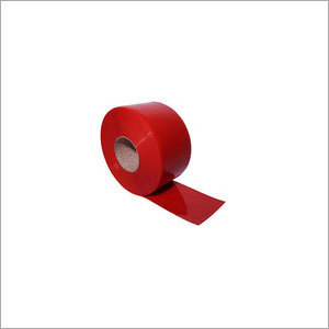 Red Welding Grade PVC Strip Curtain Roll