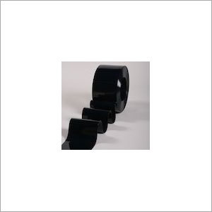 PVC Strip Curtain Roll Black