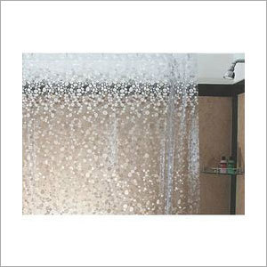 Clear Transparent Shower Curtain