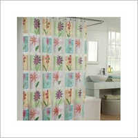 Translucent Printed Shower Curtain
