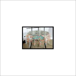 Transparent Printed Table Cloth