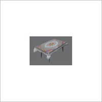 PVC Clear Printed Table Cover - Type - Independent