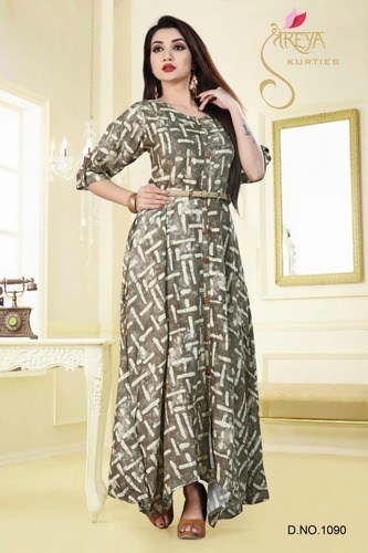 Ladies Anarkali Kurtis