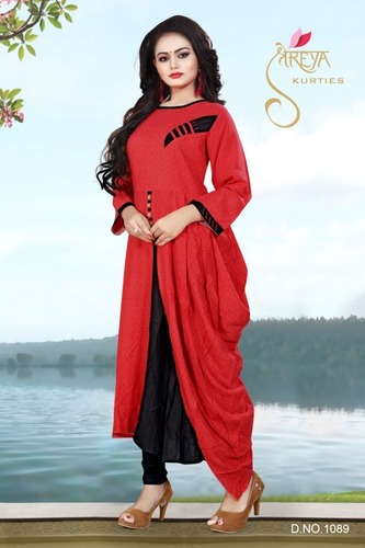 Ladies Designer Long Kurtis
