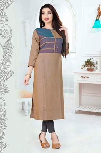 Ladies Embroidered Kurtis