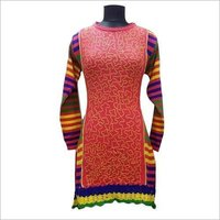 Printed Winter Kurtis