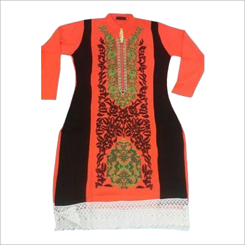 Fancy Ladies Woolen Kurtis