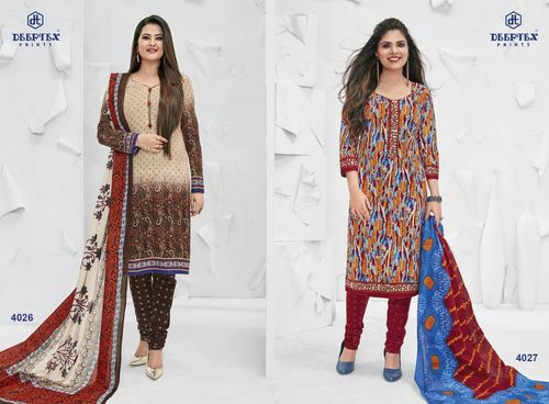 Classic Cotton Dresses Miss india dress material