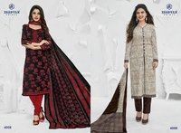 Red And White Printed Miss India Dress collection