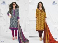 Cotton Dress Ladies Suit Miss India collection