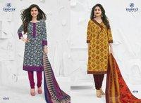 Cotton Dress Ladies Suit Miss India collection