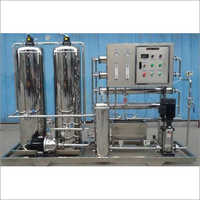 ISI Reverse Osmosis Plant