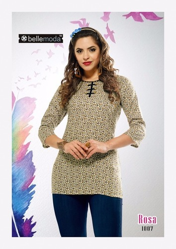 Latest checks rayon kurti