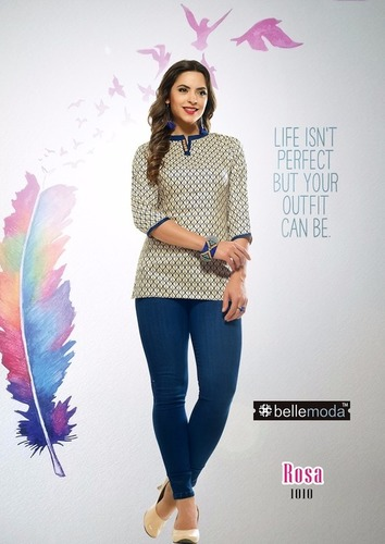 Latest Kurti with jeans