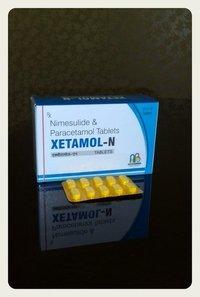 nimesulide +paracetamol