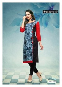 Latest Ginni Cotton rayon dress material
