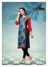 Latest Ginni Cotton rayon dress material