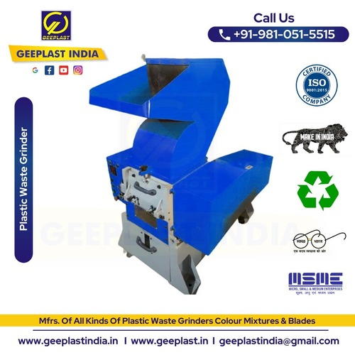 Plastic Scrap Grinder Manufacturers In Delhi