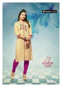 100% Ginni Cotton rayon dress material