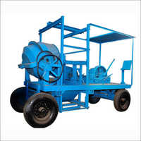 Concrete Mixer Mobile Hoist 4 LEG Type
