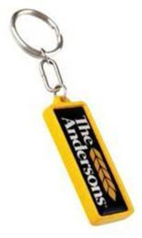 THE ANDERSON PLASTIC KEYCHAIN