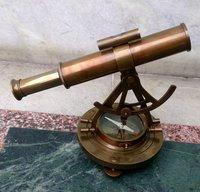 Antique Brass Alidade Compass Gift