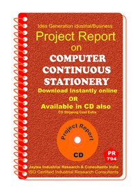 Computer Continuous Stationery manufacturing eBook