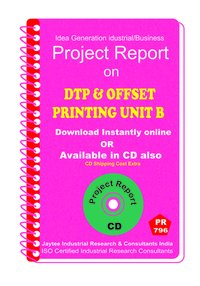 DTP and offset Printing Unit B manufacturing eBook