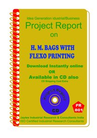 H.M. Bags with Flexo Printing manufacturing Project Report eBook