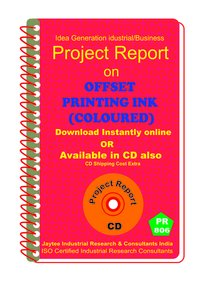 Offset Printing ink (Coloured) manufacturing eBook