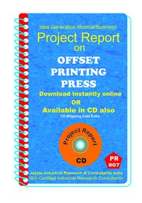 Offset Printing Press B manufacturing project Report eBook