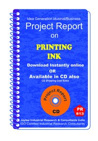 Printing Ink manufacturing Project Report eBook