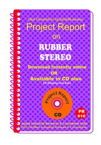 Rubber Stereo manufacturing Project Report eBook