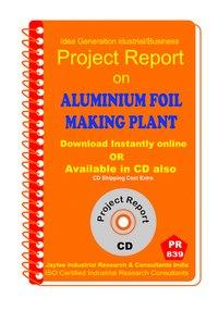 Aluminium Foil making Plant manufacturing eBook