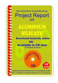Aluminium Silicate manufacturing Project Report eBook