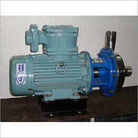 centrifugal flameproof monoblock pump