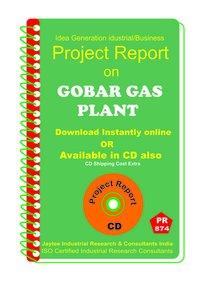 Gobar Gas Plant establishment project Report eBook