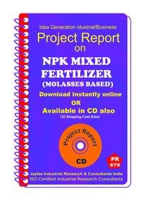 Npk Mixed Fertilizer (Molasses Based) manufacturing eBook