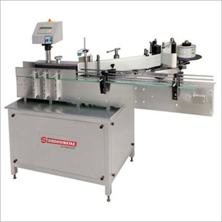 Automatic Round and Flat Bottle Sticker Labeling Machine