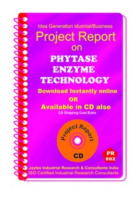 Phytase Enzyme Technology manufacturing Project Report eBook