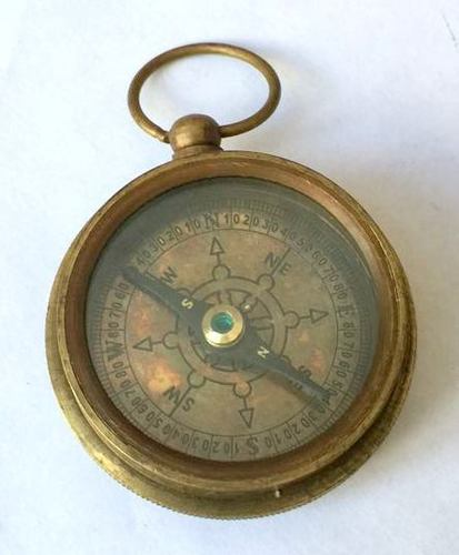 CLINOMETER BRASS COMPASS