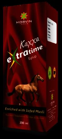 Kaxxa extra time syrup