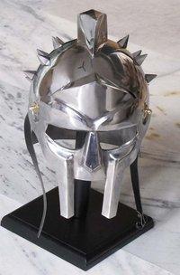 Medieval Maximus Decimus Gladiator Armour Helmet