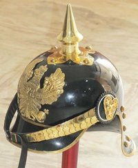 Brass Accent Imperial OFFICER Spike Helmet
