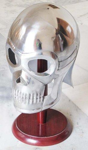 Medieval Armour Skeleton Helmet Movie Skull Armour