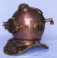 Nautical Deep See Divers Armour Helmet Beautiful Antique Style