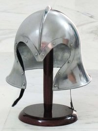 European Medieval Armour Barbuta Helmet
