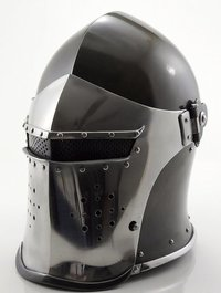 Medieval Barbute Helmet Armour Spartan